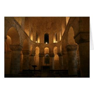 Chapelle normande carte de vœux