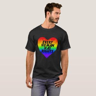Chaque humain a des droits t-shirt