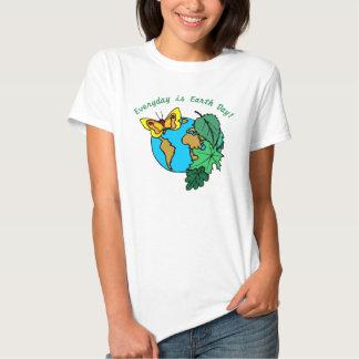 Chaque jour est le jour de la terre 1 t-shirts