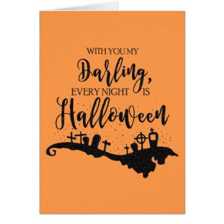 Chaque nuit est carte graphique de Halloween