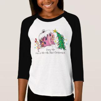 Chaque qui dans lequel-ville, Noël aimé beaucoup. T-shirt