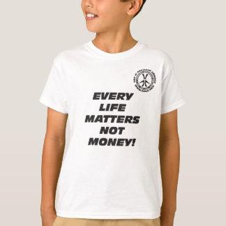 Chaque vie de l'enfant importe T-shirt