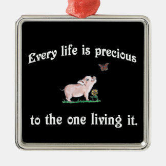 Chaque vie est ornement de façon précieuse mignon