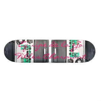 Char d'Equipe de la Go Filles… Plateaux De Skateboards Customisés