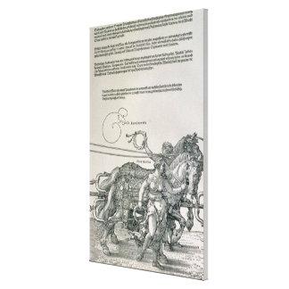Char triomphal d'empereur Maximilian I Toiles