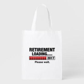 Chargement 2017 de retraite cabas épicerie