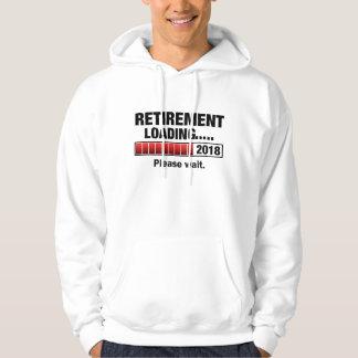 Chargement 2018 de retraite veste à capuche