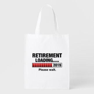 Chargement 2019 de retraite sacs d'épicerie réutilisables