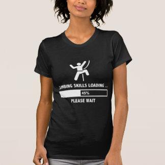 Chargement de qualifications d'escalade t-shirt