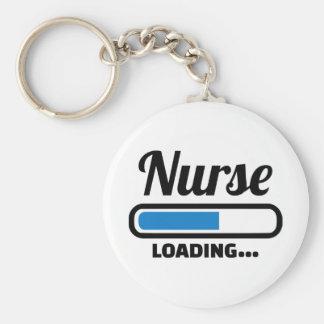 Chargement d'infirmière porte-clé rond