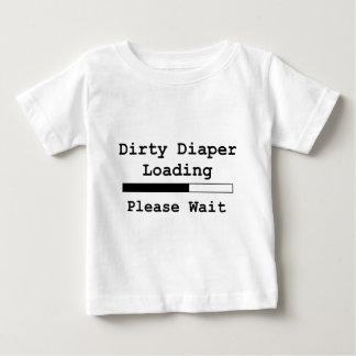Chargement sale de couche-culotte… Attendez svp T-shirt Pour Bébé