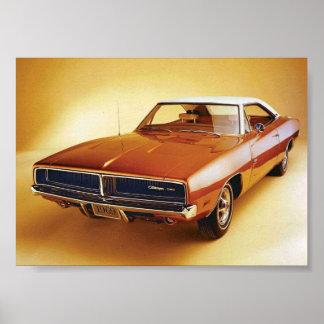 Chargeur 1969 de Dodge Poster
