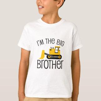 Chargeur d'avant de construction de frère t-shirt