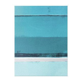 """""""Chargez-vous"""" de Teal et de l'art abstrait gris Toiles"""