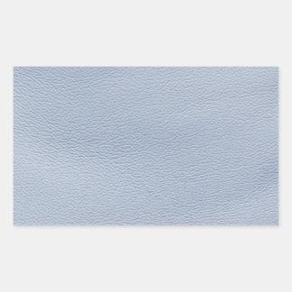 Chariot bleu Regard-Comme le cuir Sticker Rectangulaire