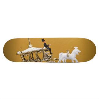 Chariot de mariage skateboard customisable
