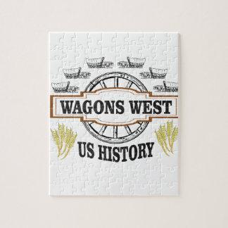 chariots occidentaux nous histoire puzzle