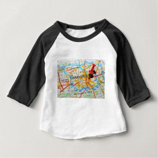Charleroi, Belgique T-shirt Pour Bébé