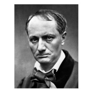 Charles Baudelaire Carte Postale