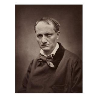 Charles Baudelaire par Étienne Carjat Carte Postale