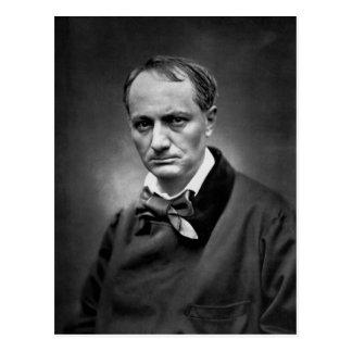 Charles Baudelaire - photo vintage 1878 Carte Postale