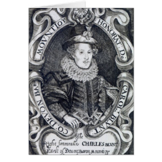 Charles Blount, 8ème baron Mountjoy Carte De Vœux
