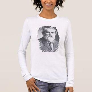 Charles bonne nuit (photo de b/w) t-shirt à manches longues