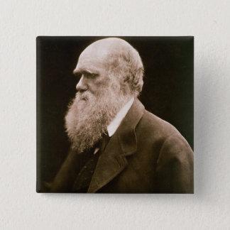 Charles Darwin (1809-82) (photo) Badges