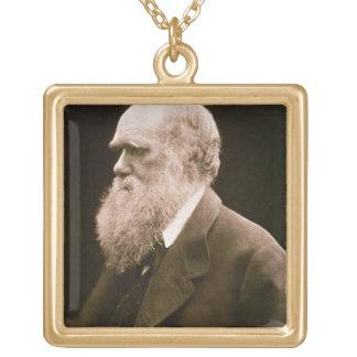 Charles Darwin (1809-82) (photo) Pendentif Carré