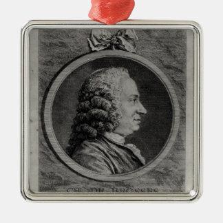 Charles de Brosses, compte de Tournai Ornement Carré Argenté