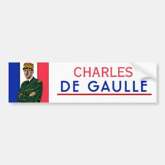 Charles de Gaulle Autocollant Pour Voiture