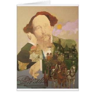 Charles Dickens, auteur anglais Carte De Vœux
