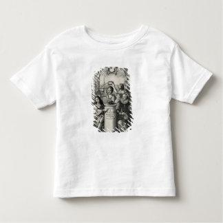 Charles II (1630-85) comme patron du Societ royal T-shirt Pour Les Tous Petits