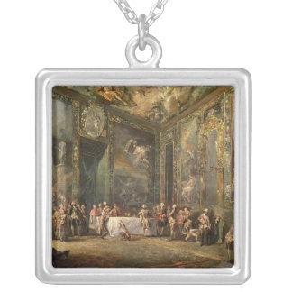 Charles III de Borbon, déjeunant avant le sien Pendentif Carré