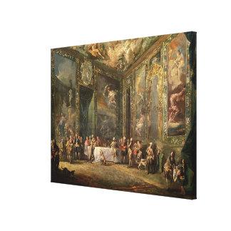 Charles III de Borbon, déjeunant avant le sien Toiles