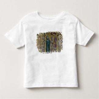 Charles IV chez la prière, la Vierge et le Christ T-shirt Pour Les Tous Petits