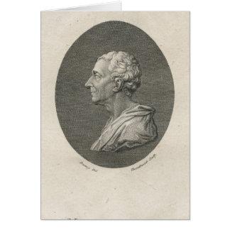 Charles Louis de Secondat, baron de Montesquieu Carte De Vœux