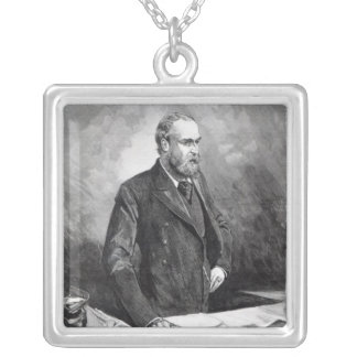 Charles Stewart Parnell Pendentif Carré