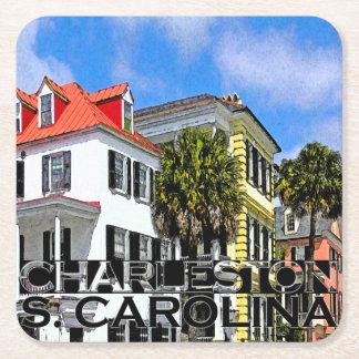 Charleston Dessous-de-verre Carré En Papier