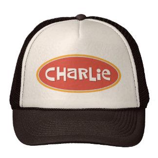 Charlie a personnalisé casquettes