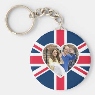 Charlotte Elizabeth Diana - les Anglais veulent Porte-clé Rond