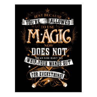 Charme | de Harry Potter juste puisqu'on vous Cartes Postales