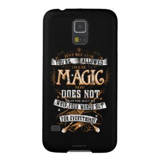 Charme | de Harry Potter juste puisqu'on vous Coque Pour Samsung Galaxy S5