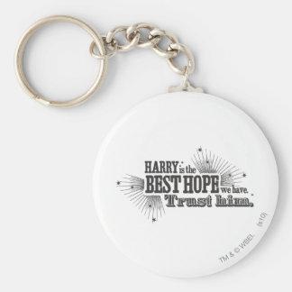 Charme | de Harry Potter notre meilleur espoir Porte-clé Rond