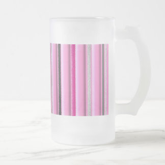 Charme Frosted Glass Beer Mug