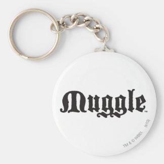 Charme   Muggle de Harry Potter Porte-clé Rond