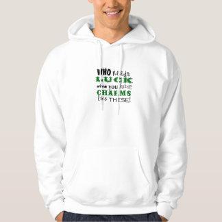 Charmes chanceux sweatshirt à capuche