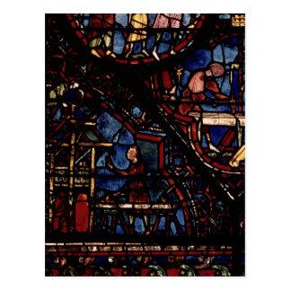 Charpentiers au travail, de la vie du St Carte Postale