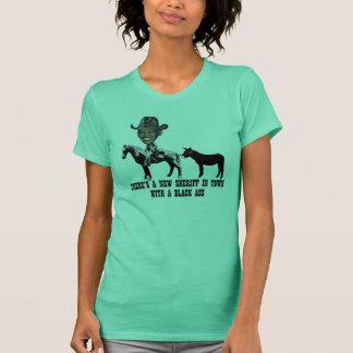 Charriez le shérif Obama-anti Obama T-shirt