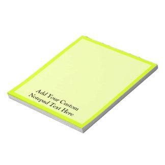 Chartreuse Blocs Notes